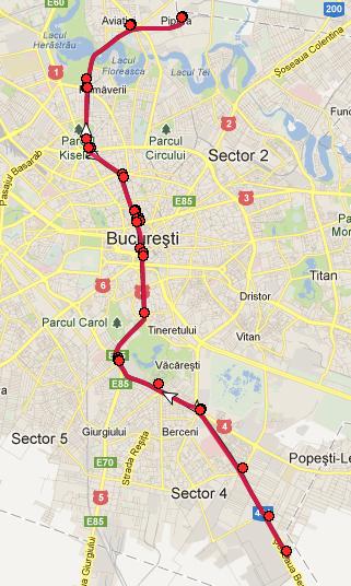 M2 Metrorex Bucuresti