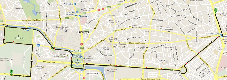 Ratb Metrorex Bucuresti Hartă Trasee