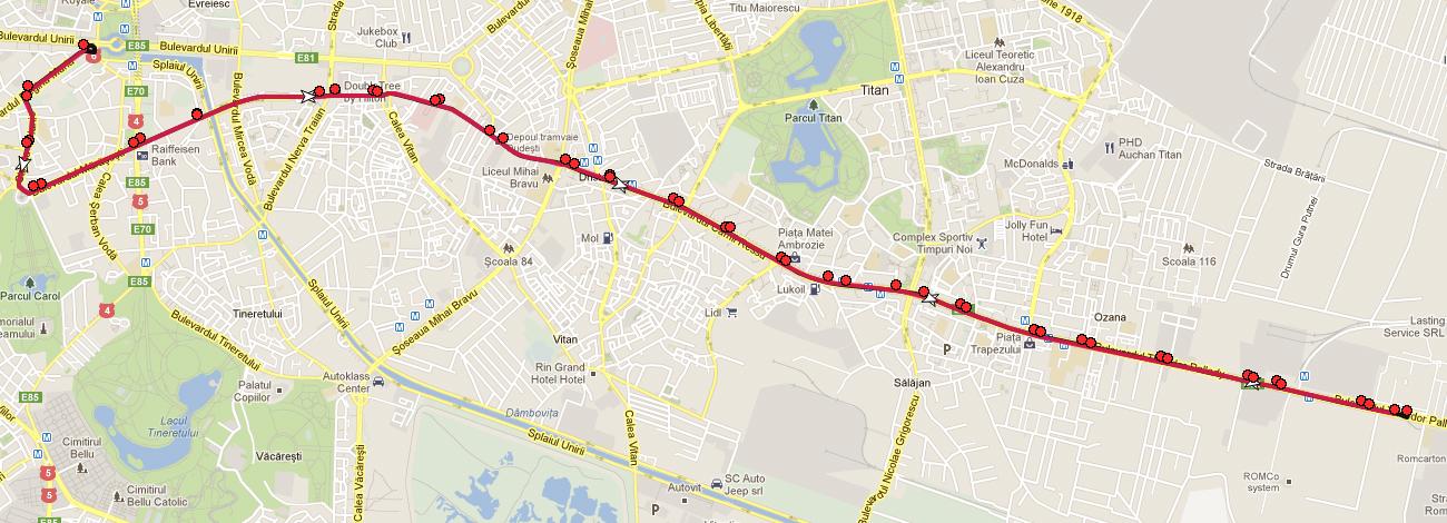 Liniile De Tramvai 1 Si 27 Vor Fi Modificate Incepand De Miercuri